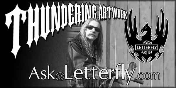 Thundering Art logo for AskLetterfly.com